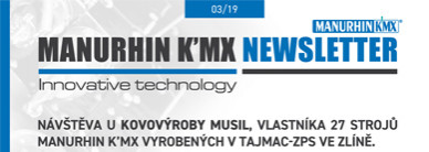 MANURHIN K'MX NEWSLETTER 03/19 foto